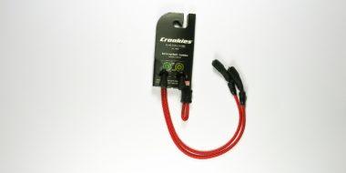 croakies terra system adjustable tite end red