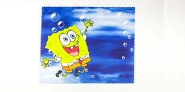 Mikroszálas törlőkendő Spongya Bob