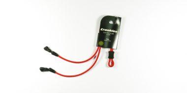 Croakies Terra system adjustable Tite end Kids Red