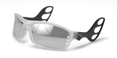 Motoflywear Alpha Matte Ice Cristal/Matte Black Smoke Silver Mirror L MF-F01-L-C03-SSM-C01