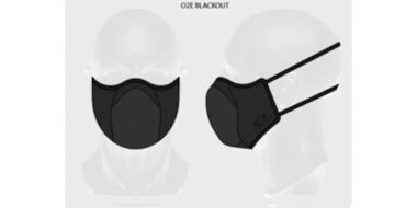 Oakley Cloth Face Covering Fitted Lgt XS AOO9715AC 00002E