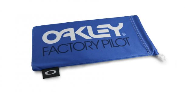 Oakley Factoey Pilot Blue W/White Microbag AOO0483MB 000028